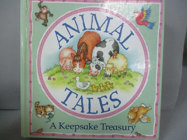 【書寶二手書T4/兒童文學_LBU】Animal Tales (A Keepsake Treasury)_Nicola