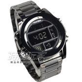 EXPONI 大錶徑計時電子男錶 學生錶 防水運動錶 軍錶 IP黑電鍍 EX1060槍黑