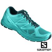 【SALOMON 法國】女 SONIC PRO 2跑鞋『陶瓷綠/深青/阿魯巴藍』394742 多功能鞋.健行鞋.登山鞋