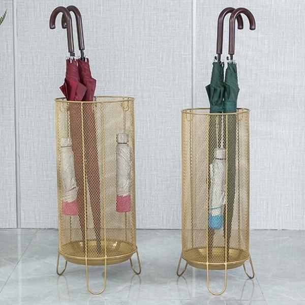 雨傘架收納桶家用酒店大堂商店辦公掛傘筒創意門口放置雨傘的架子 ATF「艾瑞斯」