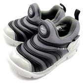 《7+1童鞋》小童 NIKE DYNAMO FREE Y2K(TD) 輕量毛毛蟲 運動鞋 學步鞋 F852 黑色