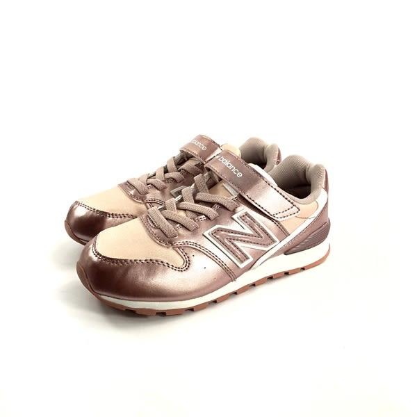 中童 NEW BALANCE KV996RGY 馬卡龍色 復古 慢跑鞋運動鞋 《7+1童鞋》9353 粉色