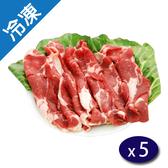 澳洲冷凍牛肉炒肉片500G/包x5【愛買冷凍】