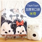 菲林因斯特《 Tsum 米奇 加厚束口袋 》 正版授權 Disney 迪士尼 滋姆 Mickey Mouse 相機束口袋