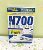 【震撼精品百貨】Shin Kan Sen 新幹線~OK蹦附盒子~藍白#94614