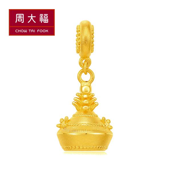 皇后鳳冠黃金路路通串飾/串珠(鳳冠) 周大福 故宮百寶閣系列