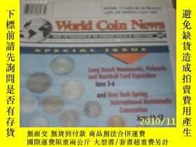二手書博民逛書店World罕見Coin News(Vol.20,No.12)(J