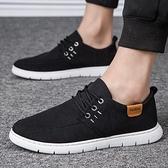 帆布鞋老北京布鞋男休閒軟底小白鞋韓版潮流學生春季新款男士布鞋子