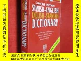 二手書博民逛書店CONCISE罕見EDITION SPANISH-ENGLISH