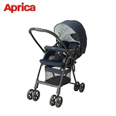 【Aprica 愛普力卡】輕量雙向 嬰幼兒手推車 (星空藍) Karoon Plus High Seat NV