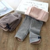 女童打底褲 2019秋冬新款兒童彈力褲子寶寶外穿加厚長褲 果寶時尚