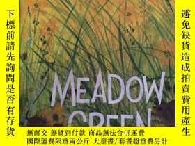 二手書博民逛書店MEADOW罕見GREEN【綠色的草地,英文原版】Y190912