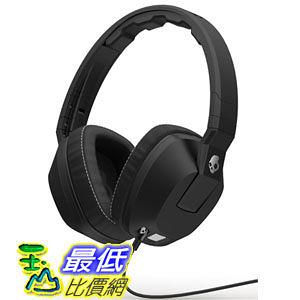 [104美國直購] Skullcandy Crusher Over-Ear Headphones with Built-in Amplifier Mic - Black