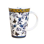 【Royal Duke】骨瓷馬克杯-中國藍蝴蝶(高貴典雅的細緻花色)