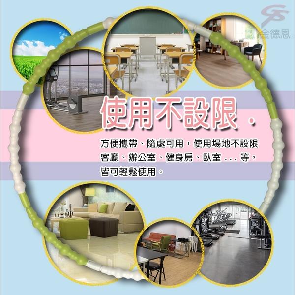 金德恩 台灣製造 可調重量 組合式波浪型運動呼啦圈 多國專利 仿冒必究
