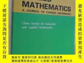 二手書博民逛書店Applied罕見Mathematics - A Journal