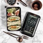 便當盒 輕食PP餐盒成人便當盒日式創意簡約健身微波爐上班族學生飯 Cocoa