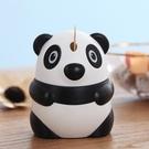 可愛個性創意卡通熊貓牙簽筒