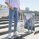 九分牛仔褲男2021年新款夏季薄款直筒寬鬆春秋潮流潮牌休閒長褲子 設計師