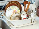 【DN410】妙用滴水碗盤架專利設計 碗盤滴水架 碗筷餐具架★EZGO商城★