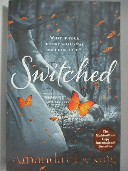 【書寶二手書T9/原文小說_ACW】Switched (Trylle Trilogy 1 Adult Cover)_Amanda Hocking