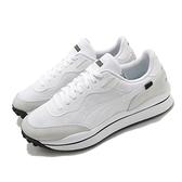 Puma 休閒鞋 Style Rider Clean 白 灰 小白鞋 男鞋 基本百搭 運動鞋【ACS】 37592602