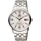 ORIENT 東方錶 DATE系列 城市菁英機械錶-銀/41mm FER2700CW