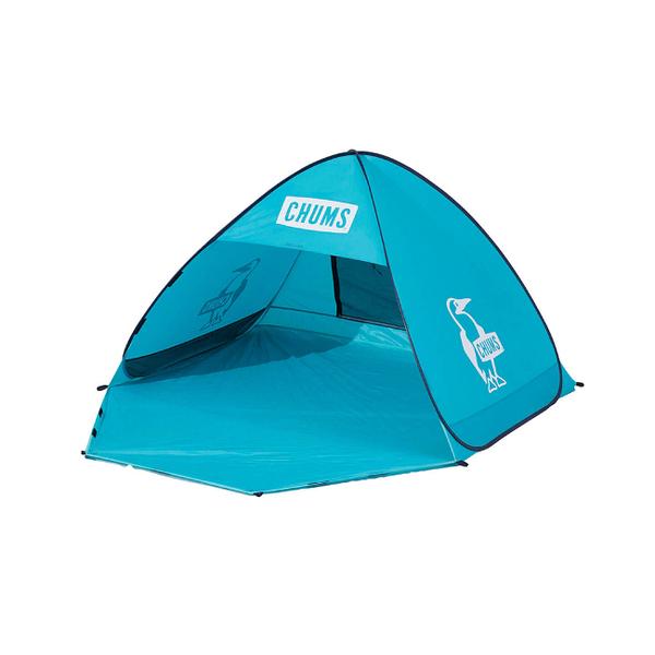CHUMS Pop Up Sunshade (3人) 帳篷 藍綠 CH621519T001【GO WILD】