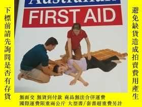 二手書博民逛書店Australian罕見First Aid 澳大利亞急救Y128
