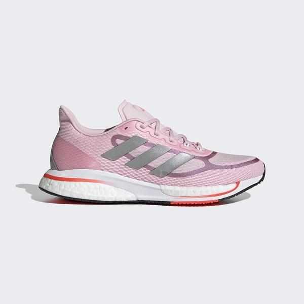 Adidas Supernova   W [FX6671] 女鞋 慢跑 運動 休閒 輕量 支撐 緩衝 彈力 粉紅 銀