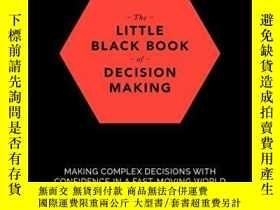 二手書博民逛書店The罕見Little Black Book Of Decision MakingY256260 Michae