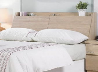 8號店鋪 森寶藝品傢俱 a-02 品味生活 臥房系列445-1 安琪拉香檳5尺雙人床頭(不含床墊+床底)