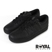 K-swiss Classcs 黑色 防水 皮質 運動休閒鞋 男款 NO.B1779【新竹皇家 06782-001】
