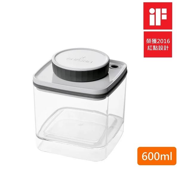 【樂品食尚】ANKOMN Turn-N-Seal 無耗電旋轉真空保鮮盒(透明)600ml