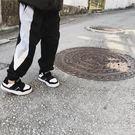 【全館免運八九折優惠】男童春裝新款2018正韓新款撞色褲子 中大童休閒褲兒童束腳哈倫褲