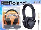 【小麥老師樂器館】現貨! 樂蘭 Roland RH-5 個人監聽耳機 電子鼓、數位鋼琴可用TD-4KP RH 5