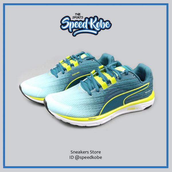 PUMA FAAS 500 V4 水藍綠 螢黑漸層 減壓避震 慢跑鞋 女 # 18752604 ☆SP☆