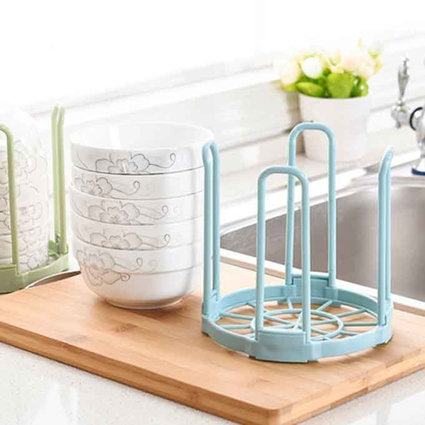 Qmishop 碗盤瀝水籃 防傾倒 收納架 洗碗架 置物架【J3069】