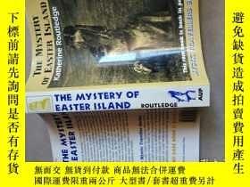 二手書博民逛書店the罕見mystery of easter island(復活節島之謎) 小16開Y15270 外文出版社