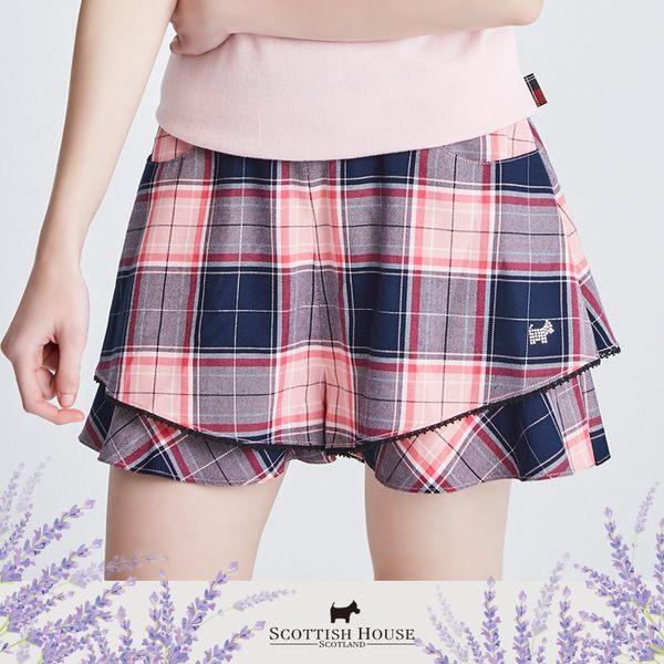兩層蛋糕褲裙 Scottish House【AI2202】