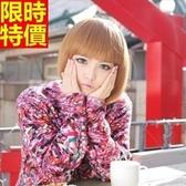 短假髮-日韓時尚齊瀏海修臉女美髮用品3色69o75【巴黎精品】