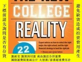 二手書博民逛書店The罕見New College Reality: Make College Work For Your Care