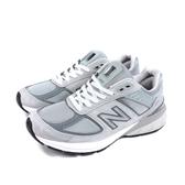 NEW BALANCE 990v5系列 總統級慢跑鞋 運動鞋 灰色 男鞋 W990GL5-D no816