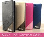 【ATON隱扣側翻可站立】forSONY XZ1 compact G8441 皮套手機套側翻套側掀套手機殼保護殼