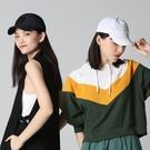 【ISW】黑白彩虹帶棒球帽-白色 (兩色可選) 設計師品牌