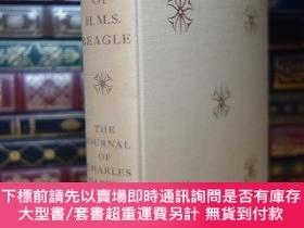二手書博民逛書店達爾文日誌小獵犬號遊記罕見1957年 Heritage Press . Journal of researches