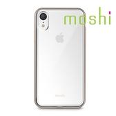 {原廠公司貨}Moshi Vitros iPhone XR 超薄透亮保護外殼-香檳金