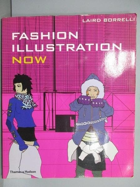 【書寶二手書T3/設計_E2F】Fashion Illustration Now