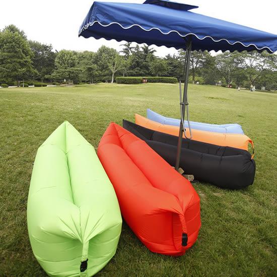 米菈生活館?【I16】便攜快速充氣床 睡袋 懶人 沙發 海邊 海灘 戶外 野餐 露營 摺疊 似Lamzac