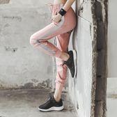 運動褲女夏天薄款寬鬆彈力瑜伽褲跑步運動速乾褲透氣顯瘦長褲 衣間迷你屋